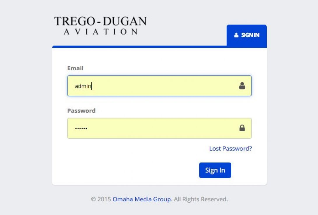 Trego Dugan Intranet Portal - 1