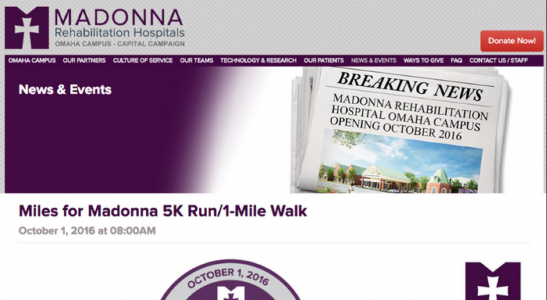 Madonna Rehabilitation Hospitals Omaha Campus Foundation - 3