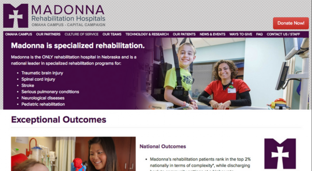Madonna Rehabilitation Hospitals Omaha Campus Foundation - 2