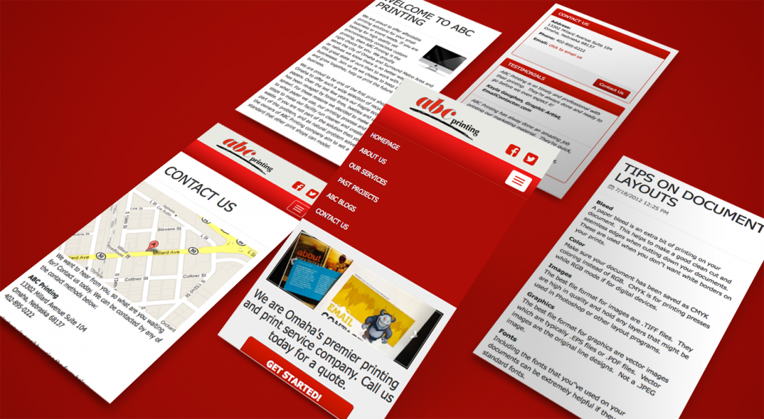 ABC Printing - Mobile App - 2