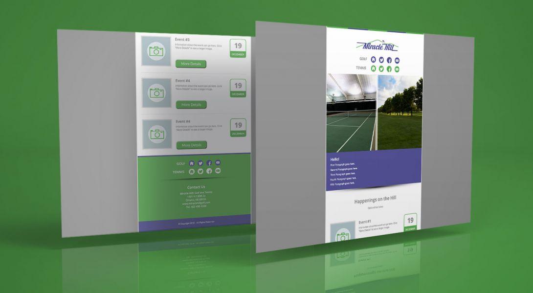 Miracle Hill Golf + Tennis Center - eNewsletter - 3