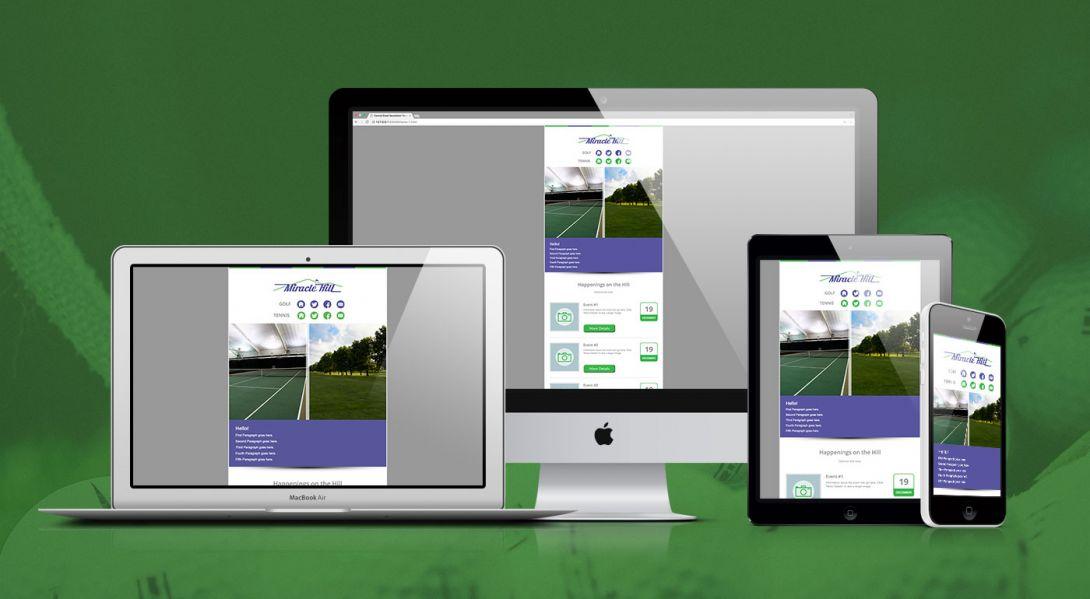 Miracle Hill Golf + Tennis Center - eNewsletter - 1