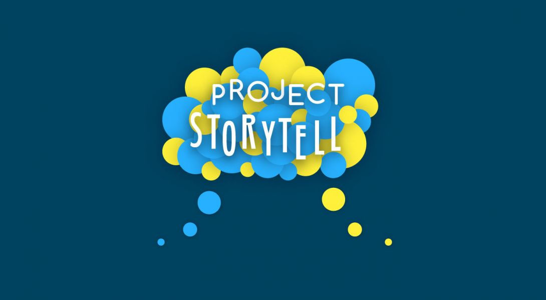 Project Storytell - Logo Design - 2