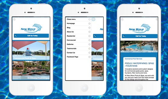 New Wave Pools & Spas Mobile