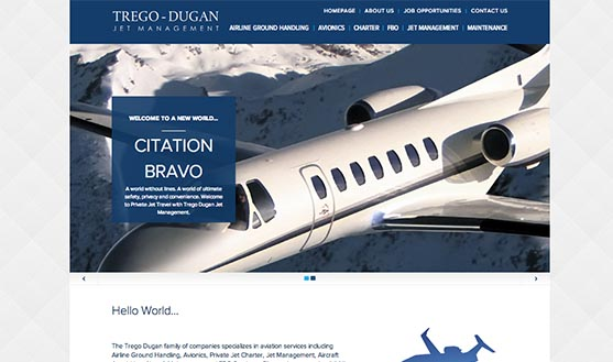 OMG Launches Trego-Dugan Jet Management Website